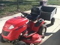 "Toro 22 HP riding lawn mower for sale. 50"" deck, 3"