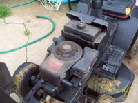 I have an old craftsman 12 hp rider, leaks a lot of