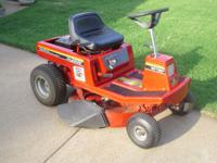 I have two riding Mowers for sale. The first is a