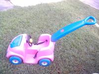 I HAVE 2, STEP2 PUSH AROUND BUGGY'S, COLORS - PINK &