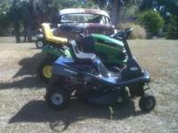 I HAVE VERY MANY RIDING LAWN TRACTORS ALL MAKE MODELS