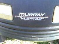i have muray riding lawn mower 15 hp /42'' briggs