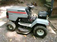 its an older mower, but its in great shape. the mower