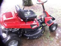 CRAFTSMAN RIDING MOWER APPEARS TO BE NEW OR NEARLY NEW