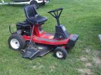 Mtd statesmen. 10 hp briggs stration. 5 speed. 36 in