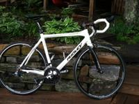 Selling a gorgeous matte white 2012 Ridley Damocles RS