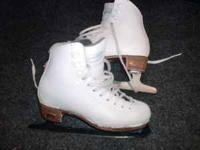 I'M SELLING MY DAUGHTERS ICE SKATES BECAUSE THEY ARE