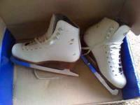 Skates are in great condition with just a few scuffs on