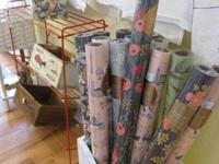 Come check out the stunning rolls of wrapping paper,