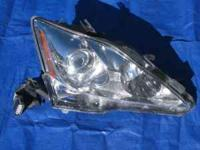 Right headlight with assembly for a 2009 IS 250 Lexus.