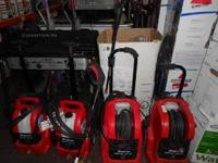 We have a Rigid Gas Powered Pressure Washer that has