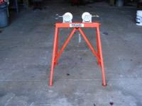 4 RIGID Pipe Stands (see pictures) Model 64642 AR-99