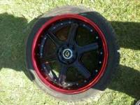 For sale 18' rims with new tires im asking 500 no