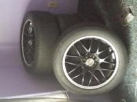 These tires are in great condition Rims are Black 18""