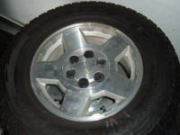 I have 2 and 1 half ton Silverado rims for sale 125