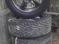 i have these rims and tires for sale, i use to have