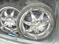 I have a bunch of rims and tires for sale these are