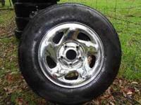 These rims came off of a 1998 dodge ram 1500, they have