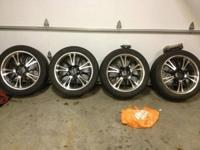 I have 22 inch and 18 inch rims for sale, the 18's are