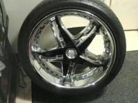 I have 4- like new very unique 18 Inch Rims for sale