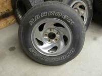 I have 4 chrome rims (16 inch rims)for a ford truck 5