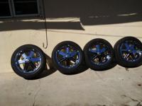 "20"" Sinister Rims Nexen Tires 275/45R/20 5 Lug Ford Are"
