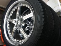 20 inch rims excellent condition universal 5 lug New
