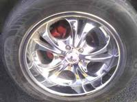 i got a set of nice rims for sale they fit jeeps and