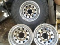Ford Rims for sale   15x10 6x5.5 Bolt Pattern  2