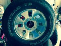 "Four Ford / manufacturing facility 18""wheels & tires"