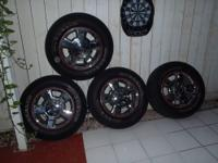 4 factory alloy wheels from a 2010 Ford F150 in Great