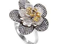 This ring is fun and feminine. It is made of