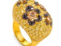 This pave ring is marvelous and superb. The ring is