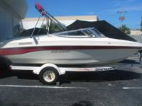 Nice -- Super Clean! Rinker 180 Comes with trailer!