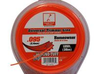 The Rino Tuff 0.095 in. String Trimmer Line for Gas