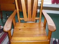 Chair is lodged by a hard to find Rittenhouse Furniture