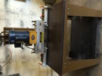 RITTER 13 line boring machine complete with 13 BITS