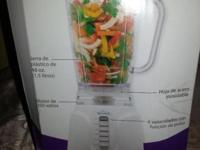 New Make refreshing beverages, dishes for baby, dips,