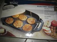 Rival 16-Inch Electric Skillet This large skillet is