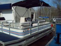 1988 in great disorder. Pontoon has a newer 2002
