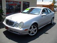 2002 Mercedes-Benz CLK-Class 430 Body Layout Coupe Ext.