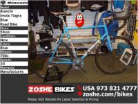 ROAD 59cm Bianchi Imola Tiagra Blue Road BikeZoshe