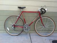 hey im selling a very nice road bike. the bike is in