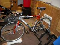 Nice Triax Road Bike. Roughly 2 years old. Rides and