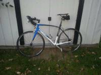 I have a 2010 giant defiy road bike for sale has 460