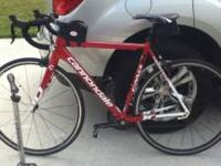 This is a 54 cm 2011 Cannondale CADD10 road bike with