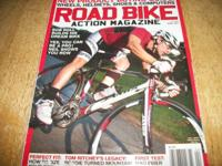 Road Bike Action mag,April 2011, Bob Roll builds his