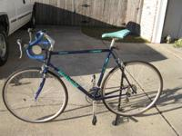 58 cm bianchi road bike, about 200 miles on it. gator