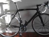 This is a custom build 56cm road bike. It is full