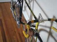 Mid 80's panasonic road bike for sale. 56.5 cm sized so